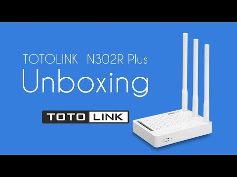 TOTOLINK N302R Plus   WiFi Router Unboxing