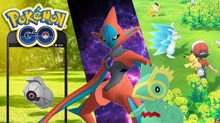 DEOXYS, SHINY BELDUM, KECLEON Y LET