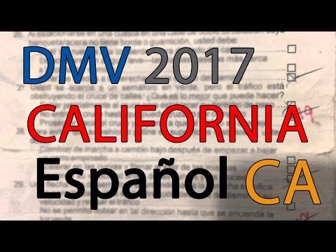 graphic regarding Dmv Practice Test in Spanish Printable identify Cost-free California DMV Let Train Examine 2017 inside Spanish