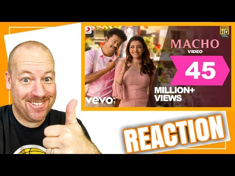 Maacho Song REACTION By American Dad | Mersal
