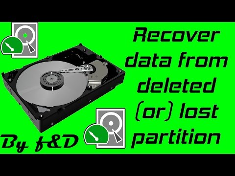How To Recover Data From Deleted Or Lost Partition By Using TESTDISK 2016