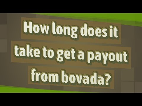 How Long Does It Take To Get A Payout From Bovada?