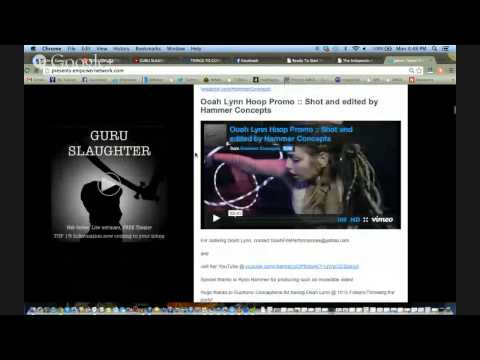 GURU SLAUGHTER Independent Producers Training Social Domination