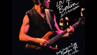 LOU REED : berlin (live at St Ann