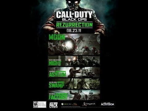 Call of Duty: Black Ops 'Rezurrection' Map Pack 4 DLC Announced! 5 Call Of Duty Black Ops Rezurrection Maps on