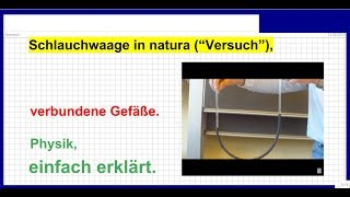 07 2015_03_17 Physik, Schlauchwaage in natura, verbundene Gefäße