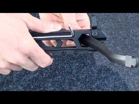 Pistolenarmbrust  MK50 Zusammenbau, Armbrust Aufbau,