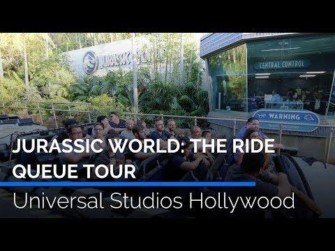jurassic-world:-the-ride-queue-tour