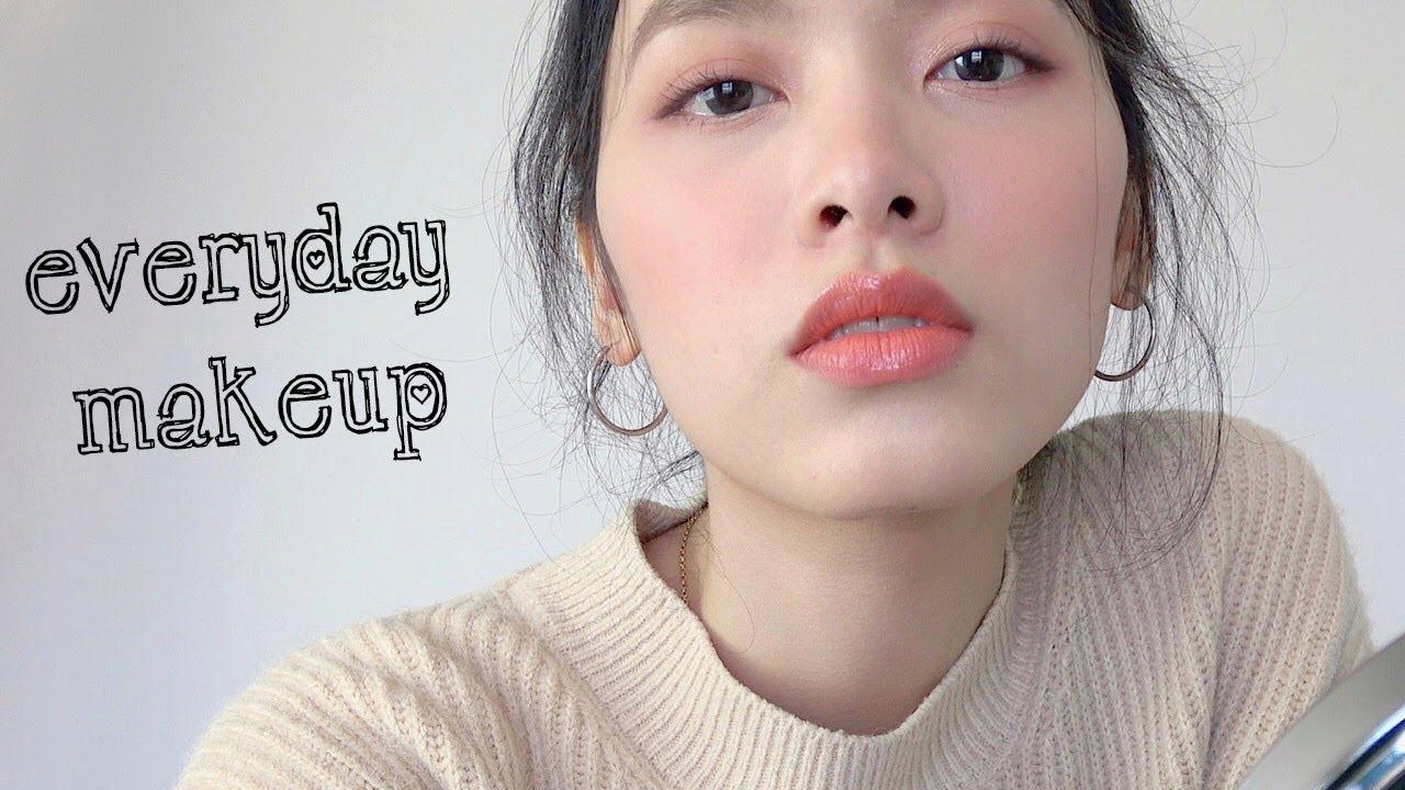 Trang Điểm Tự Nhiên Hàng Ngày | EVERYDAY MAKEUP | Hồng Beauty ♡