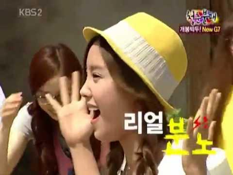 """T-ara Hyomin """"SUNNY ahhh!!!"""" SHE REALLY MISS SNSD's Sunny."""