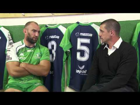 Connacht Rugby -  John Muldoon pre match prep
