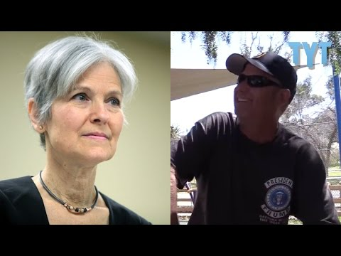 Trump Supporter Who Worked For... Jill Stein?!