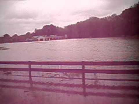 Flooded fields after Irene, eastampton NJ area