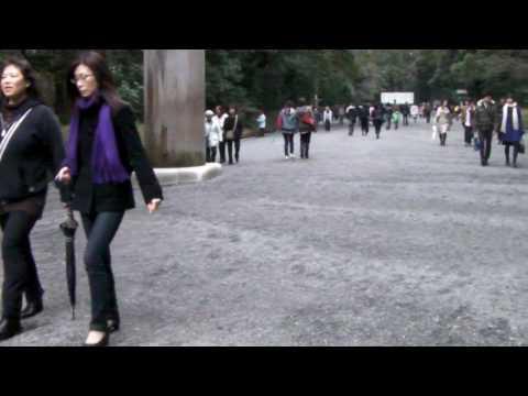 明治神宫-正殿大门前