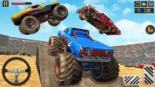 Monster Truck Derby Crash Stunts #2 | Android Gameplay | Friction Games