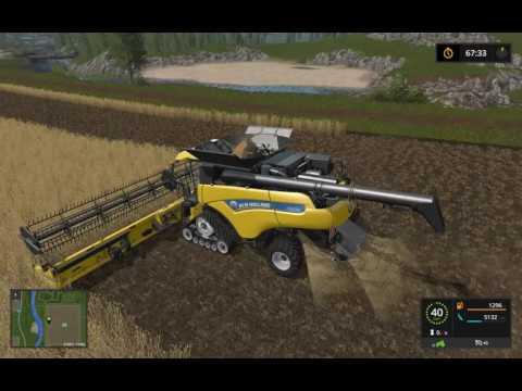 Farming Simulator 17 Как увеличить скорость Комбайна при сборке урожая! Легкий Гайд!