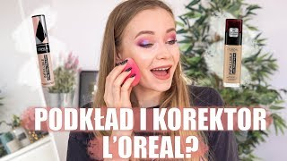 L'OREAL INFAILLIBLE FRESH WEAR + L'OREAL INFAILLIBLE MORE THAN CONCEALER | 12H TEST + RECENZJA