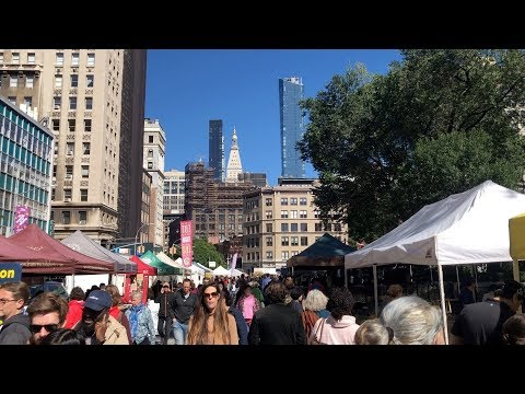 My NYC: Union Square Farmers Market || VEDO 12