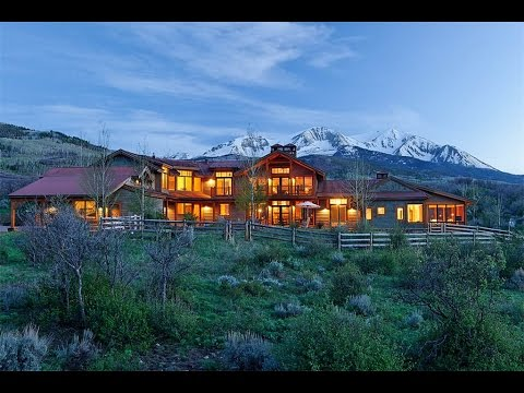 Country home with mountain views in basalt colorado youtube for Colorado country homes