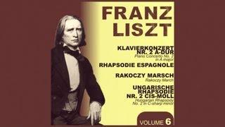 Franz Liszt -- Piano concerto N.2 in A major: III. Allegro deciso. Marziale un poco meno allegro