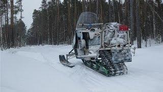 Самодельные Снегоходы Топ 5 Самоделки Homemade Snowmobiles