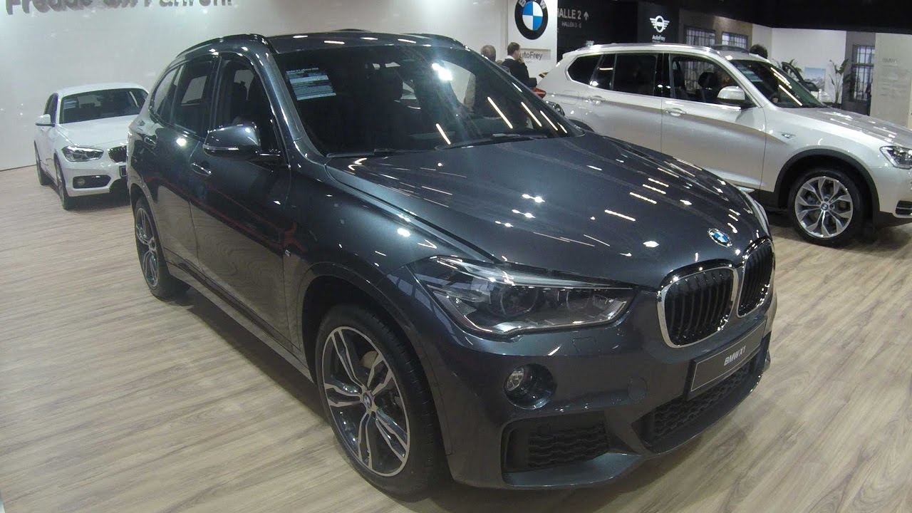 Bmw X1 F48 Compilation 2 Mineral Grey Sparkling Storm Model 2017 Walkaround Interior