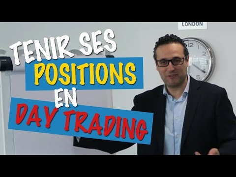 L'importance de tenir ses positions en Day Trading