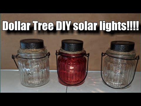Dollar tree diy solar lights
