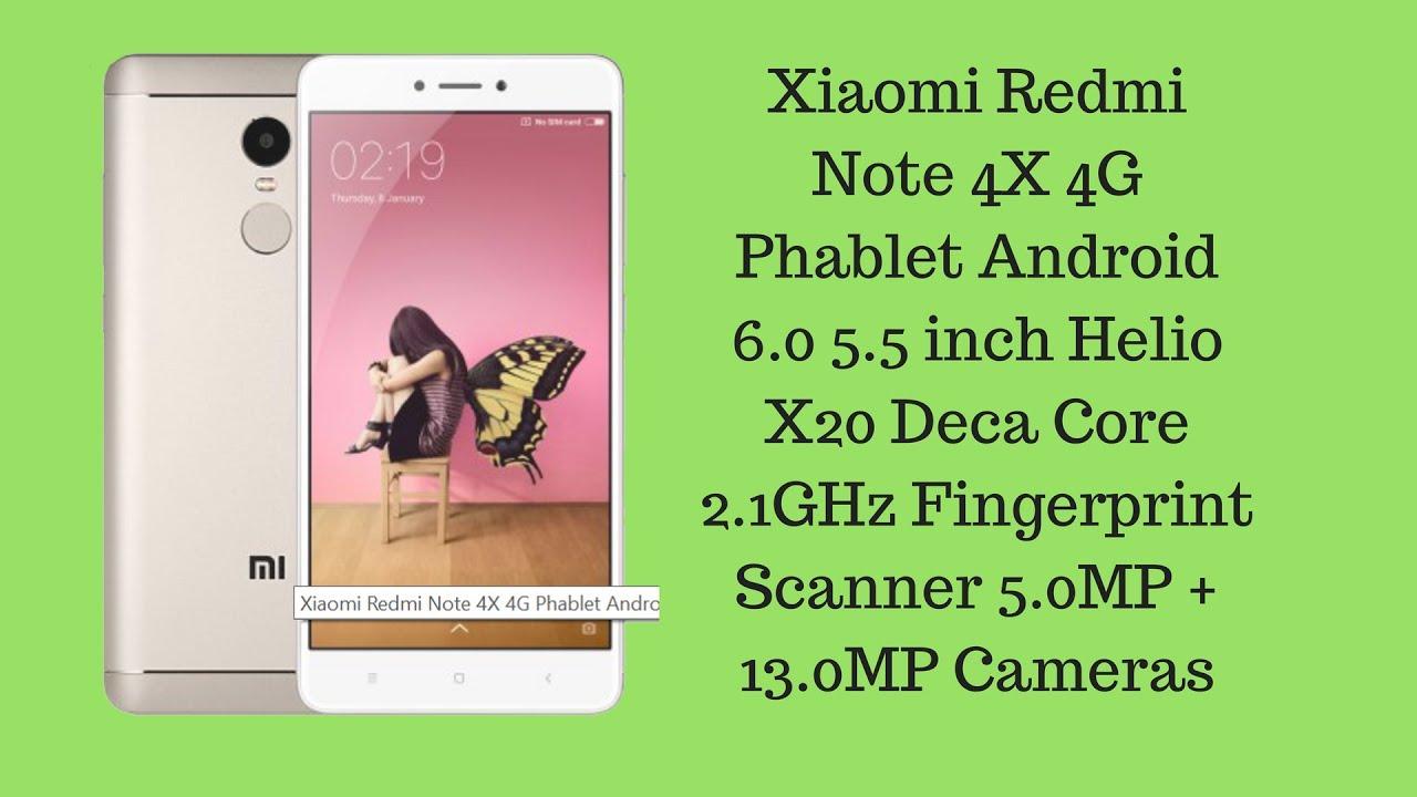 Xiaomi Redmi Note 4X 4G Phablet 4GB RAM 64GB ROM International Version