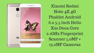 Xiaomi Redmi Note 4X 4G Phablet 4GB RAM 64GB ROM International Version