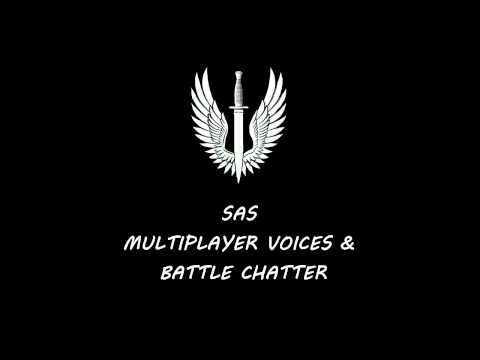 Modern Warfare 3 - S.A.S Multiplayer Voices & Battle Chatter