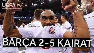 UEFA Futsal Champions League Highlights: Barça 2 v  5 Kairat