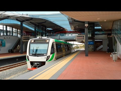 Trains & buses at Butler - Perth Transport