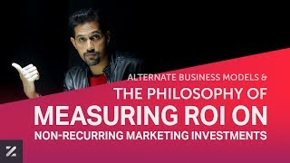 E011 | The Philosophy of Measuring ROI on Non-Recurring Marketing Investments | Lazaro Podcast