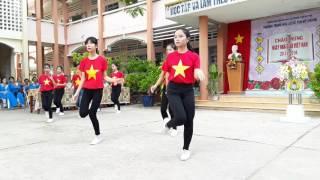 Nhảy Dân Vũ : Tiến Lên Việt Nam Ơi - THCS Tân Mỹ Chánh