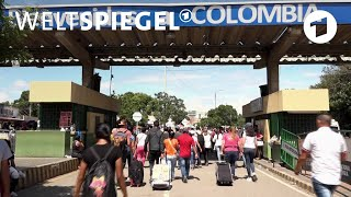 Kolumbien: Der größte Flüchtlingstreck Lateinamerikas | Weltspiegel