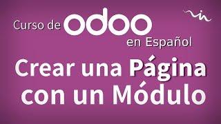 Cursos Odoo - Crear Página Web desde un Módulo