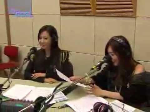 130114 SNSD Tiffany TaeYeon Yuri HyoYeon KBS Cool FM Kim Bumsoos Gayo Plaza
