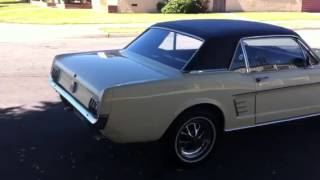 1966 Ford Mustang Springtime yellow by californiaimport