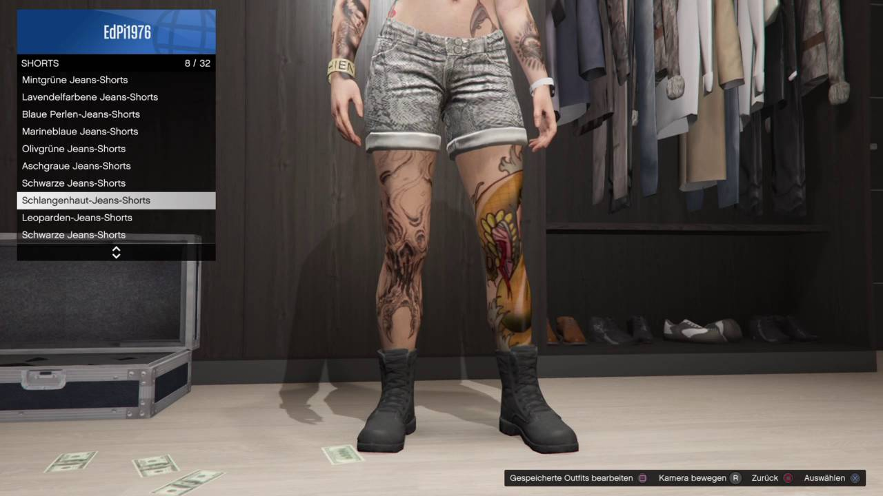 GTA 5 Online (LS Lonesome Warriors) - Use Combat Boots in Combination with any other Leg Wear ...