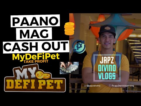 My DeFi Pet: PAANO MAG CASH-OUT/WITHDRAW NG DPET TO PHP