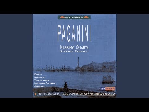 Sonata and Variations on Pria ch'io l'impegno from Weigl's L'amor marinaro, Op. 29, MS 47 (arr....