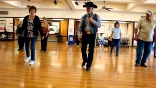 Electric Slide 2 ( Line Dance ) Walkthrough.wmv