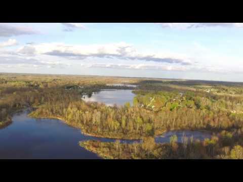 Six Lakes near Edmore Michigan