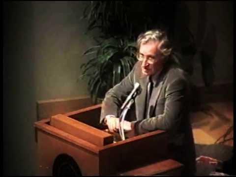 Noam Chomsky - Prospects for World Order 8/24/95