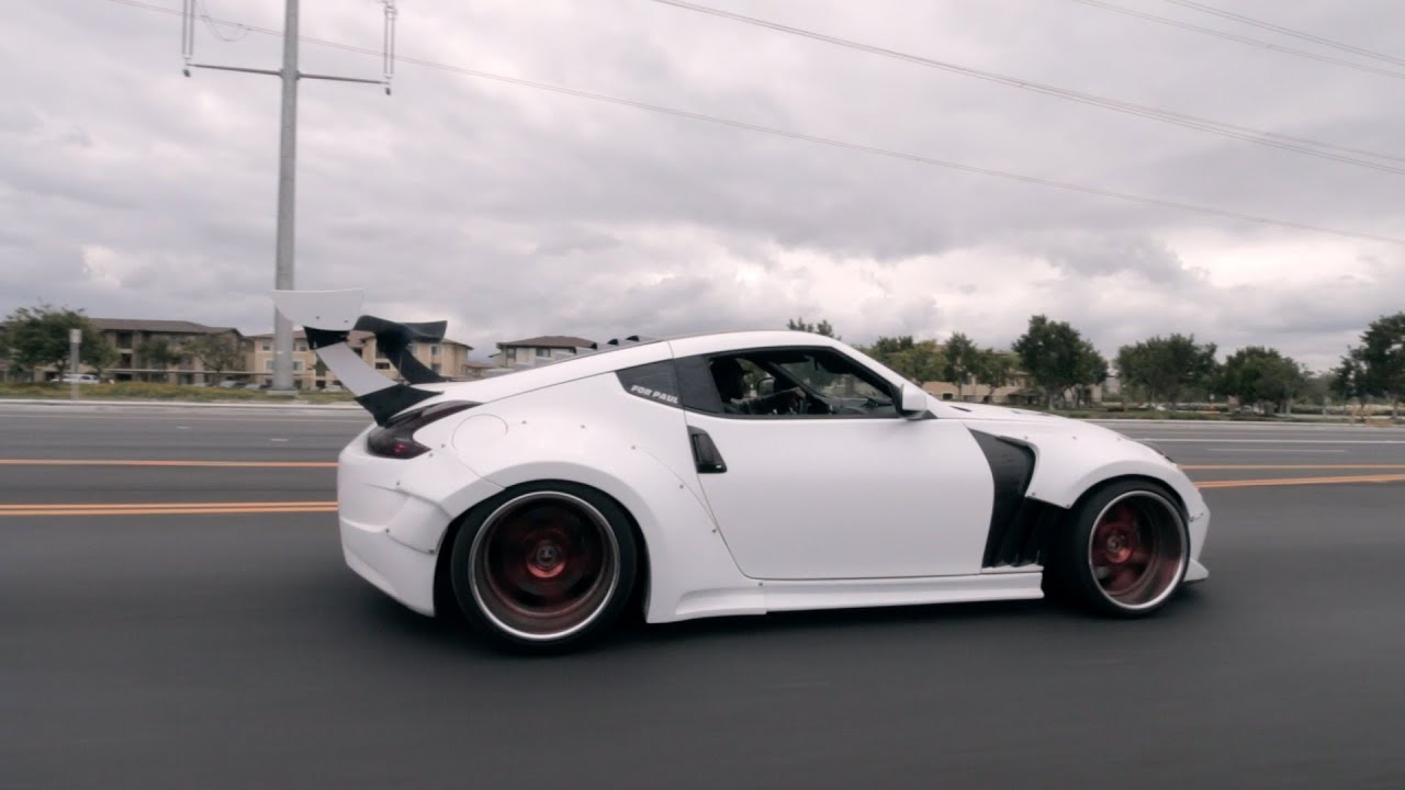Big Wang 370z On Bags Youtube
