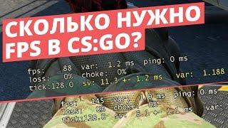Сколько FPS нужно, чтобы тащить в CS:GO? | Всё о FPS | Аналитика | #FPSИМЕЕТЗНАЧЕНИЕ [EasyForUs]