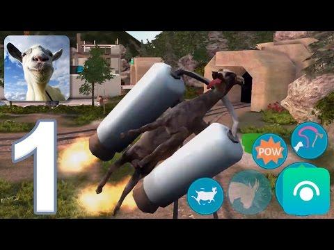 Goat Simulator - Gameplay Walkthrough Part 1 - Goatville (iOS, Android)