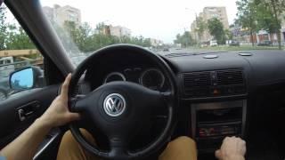 Обзор и тест драйв подержанного Volkswagen Golf 4 (1.4 МКПП). Законодатель класса.
