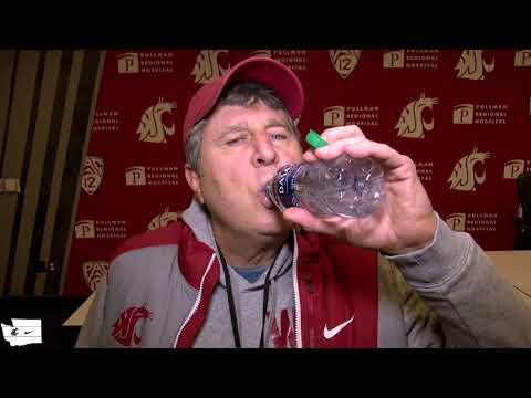 WSU Football: Mike Leach After Practice 10/31/19